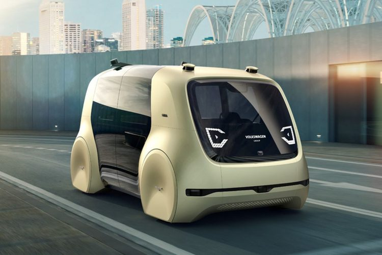 Electric Concept Cars - Volkswagen Sedric Front 3/4