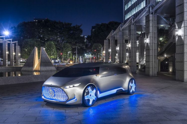 Electric Concept Cars - Mercedes-Benz Vision Tokyo Front 3/4