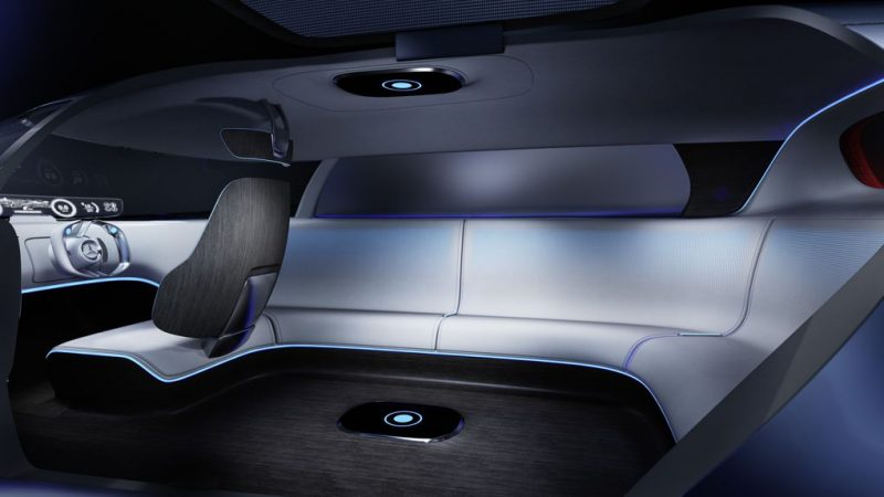 Electric Concept Cars - Mercedes-Benz Vision Tokyo Interior