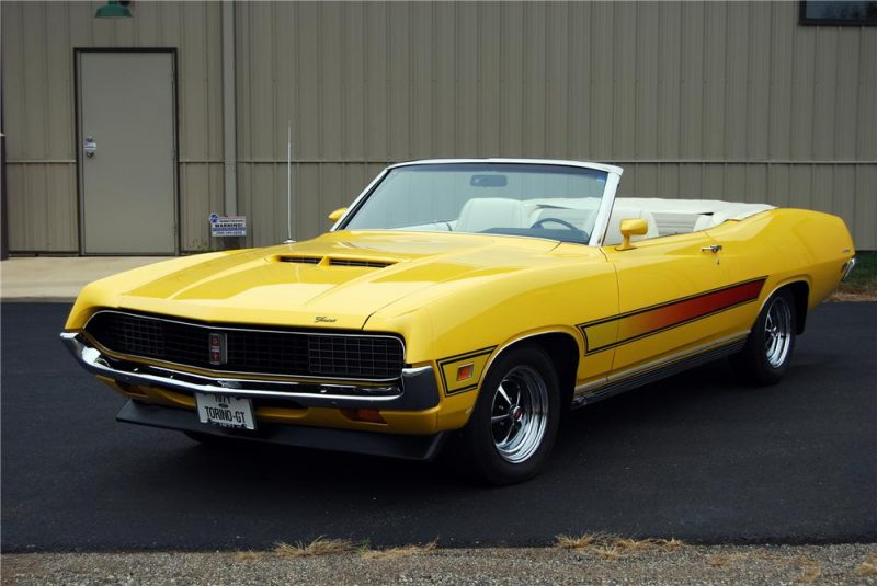 Unusual Muscle Cars - 1968-1971 Ford Torino GT Convertible