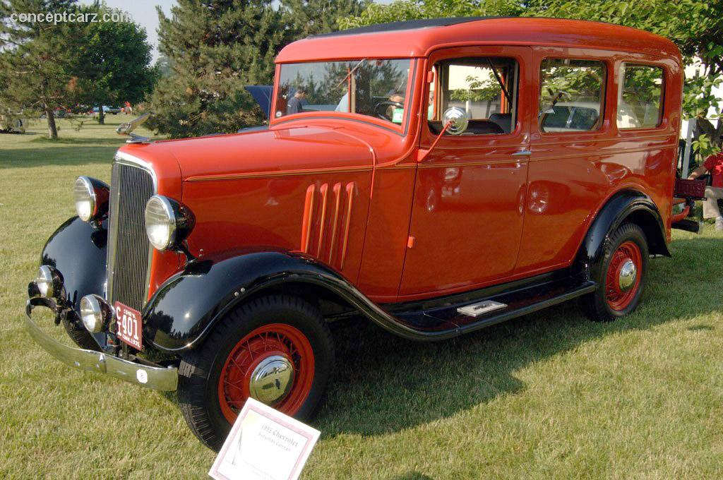The 1936 Chevy Carryall Suburban is the grandaddy of the Chevy SUV.