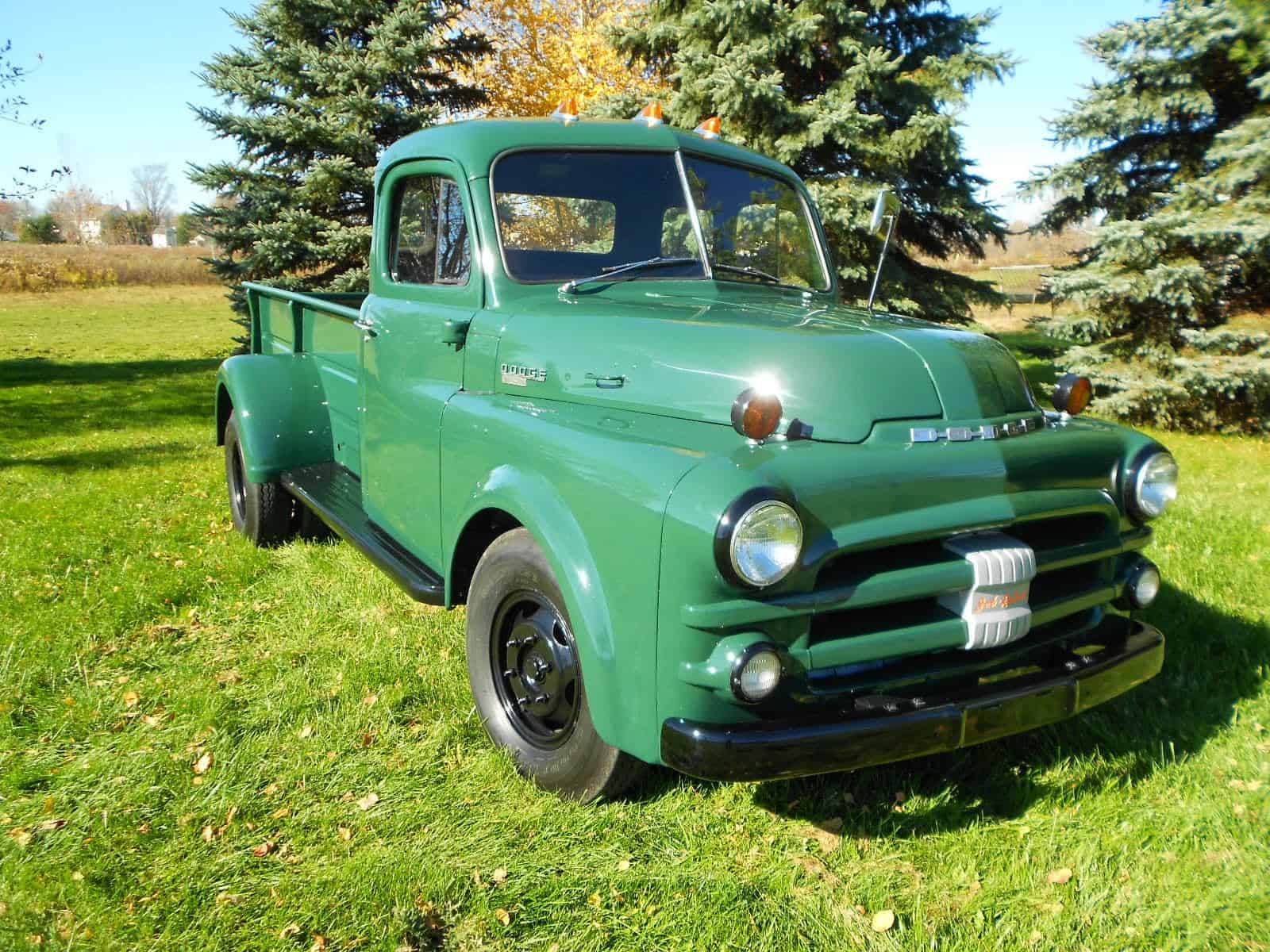 Our history of the Dodge dually includes the 1951 B-series Dodge dually
