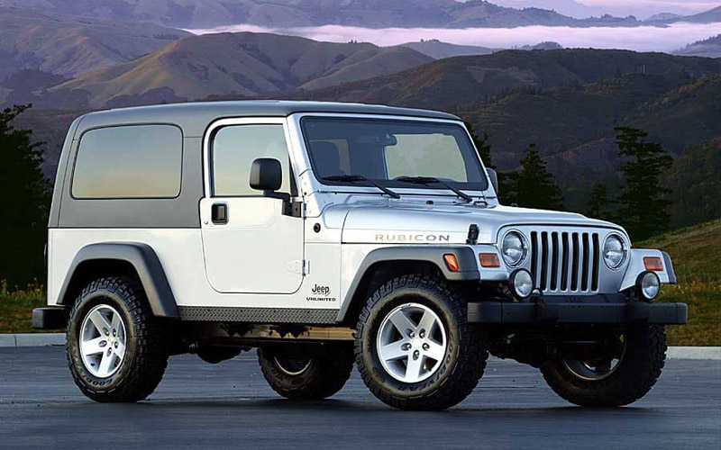 first cars Jeep Wrangler