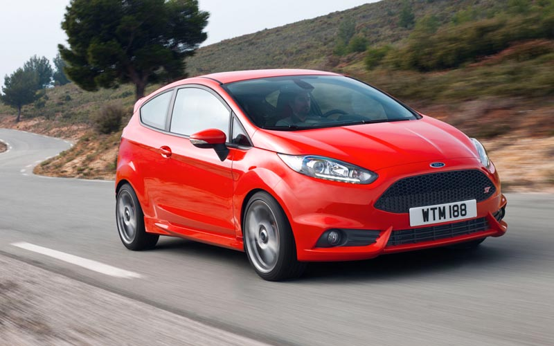 first cars Ford Fiesta ST