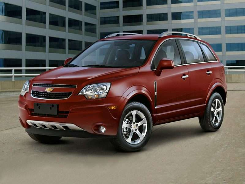 The Chevrolet Captiva is a bad Chevy SUV to buy.