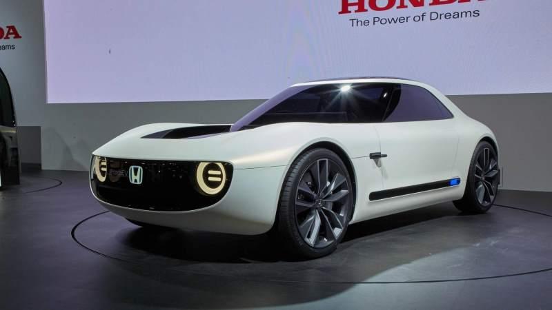 Honda Sports EV Concept Front 3/4