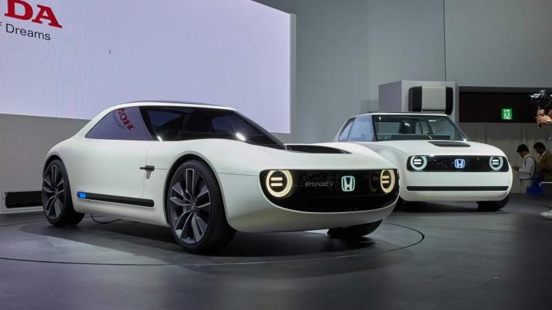 Honda Sports EV Concept Front 3/4 2