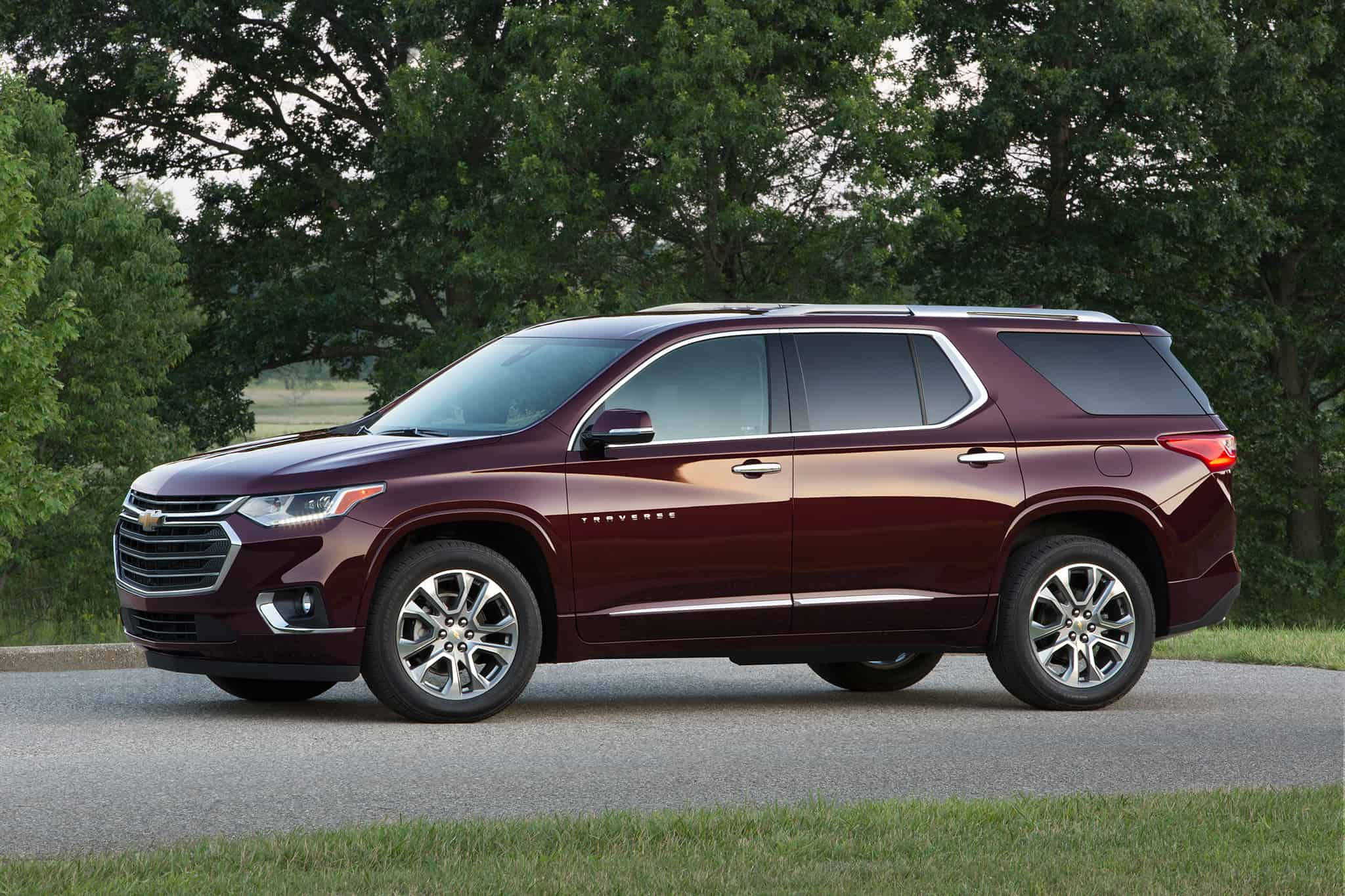 The Chevrolet Traverse is a great family Chevy SUV.