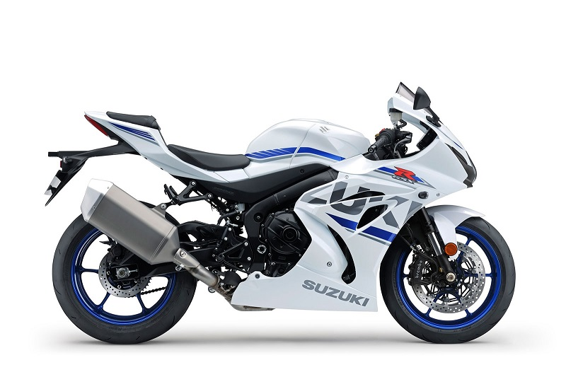 2018 Suzuki GSXR 1000 White