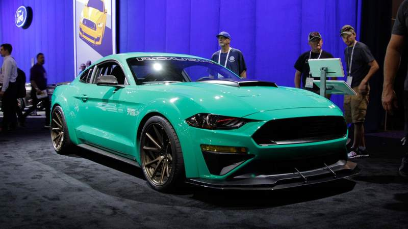 "Roush Performance GT 729 Wide-Body ""TriAthlete"" 2018 Ford Mustang"