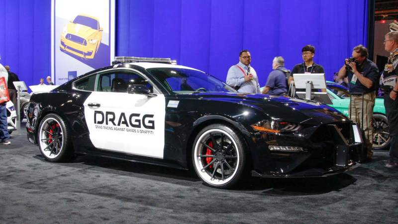 DRAGG 2018 Ford Mustang