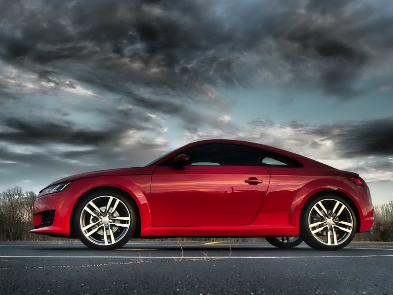 One of the fastest cars under 30K is the Audi TT Quattro
