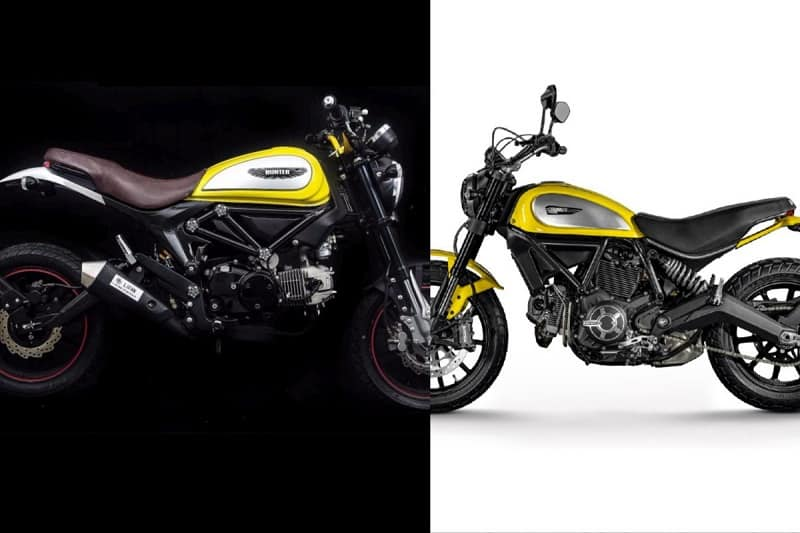 Chinese Motorcycles - Lifan Copycat