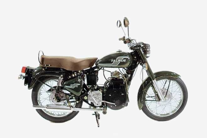 Diesel Motorcycle - Royal Enfield Taurus 1