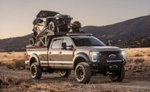 """Ford F350 """"The Operator"""" Front 3/4"""
