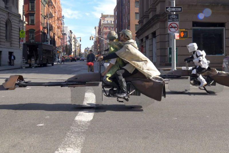 Star Wars Speeder Bike Motorcycle  - Lithium Cycles
