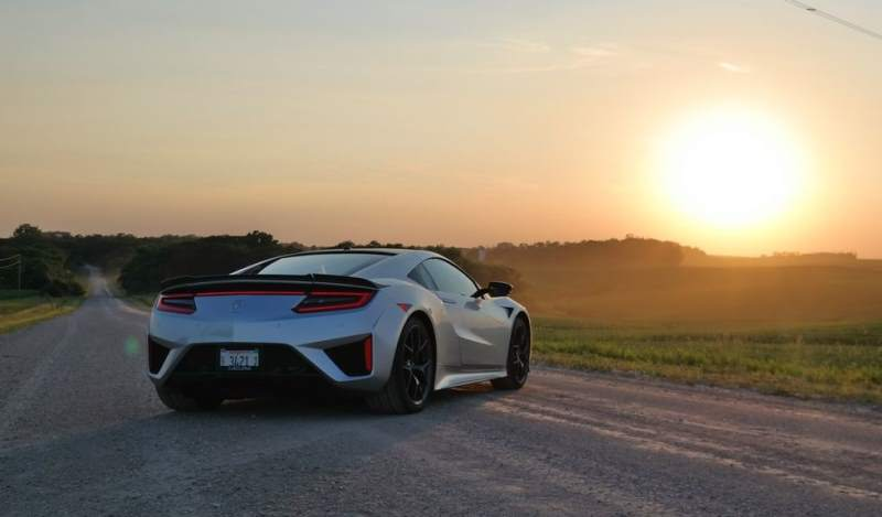 best daily driver sports car Acura NSX