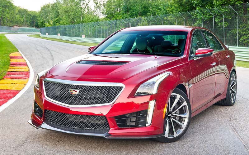 sleeper cars Cadillac CTS-V