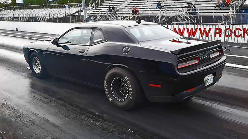 Fastest Challenger Rear 3/4