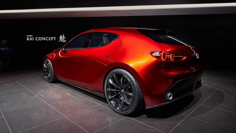 Could the Mazda Kai Concept be the New Mazdaspeed3?