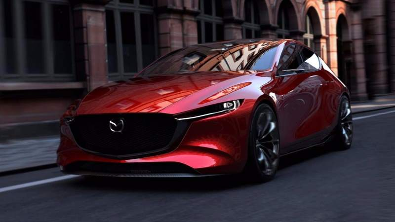 Is this Mazda Kai Concept the face of the New Mazdaspeed3?