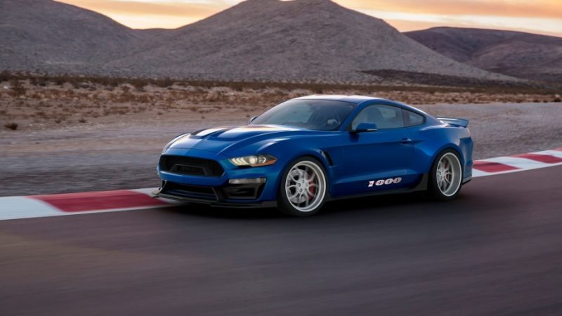 Shelby 1000 Blue