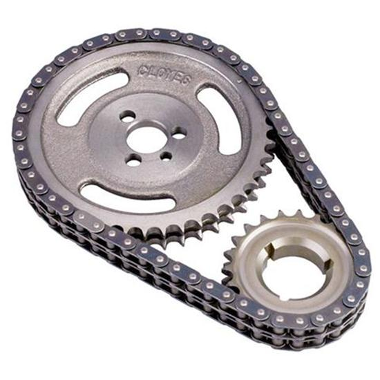 Our list of engine rebuild tips includes a double-width timing chain.