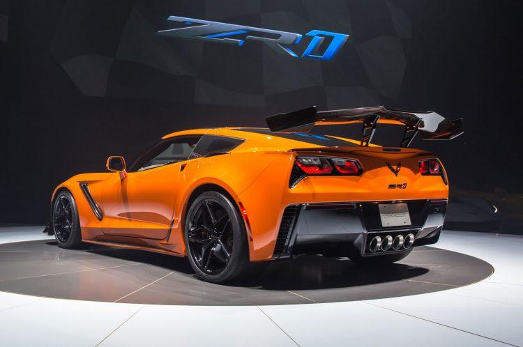 2019 Chevy ZR1 Sebring Orange Rear