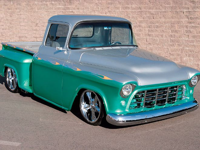 Chevy trucks are a great base for custom trucks like the Low Life.