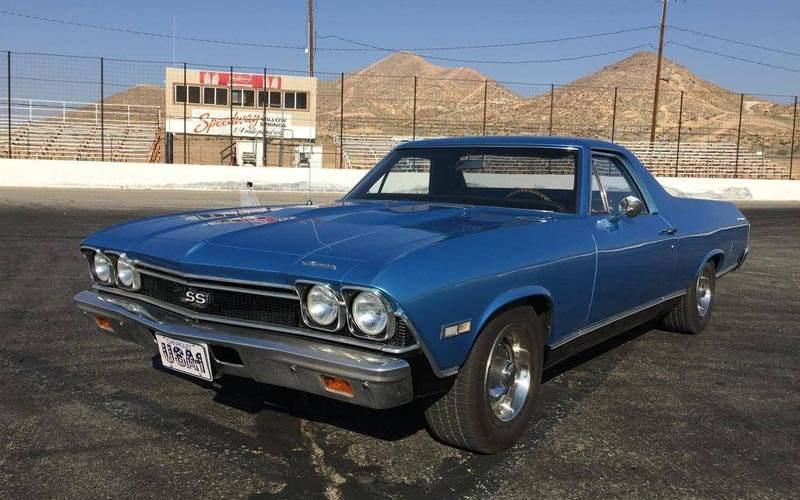 Chevrolet El Camino Front 3/4