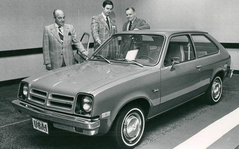 Chevrolet Chevette Front 3/4