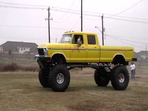 This 1978 Ford F-250 is a monster among jacked up trucks.