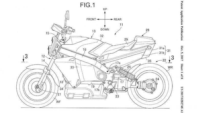 Hydrogen Motorcycle 1