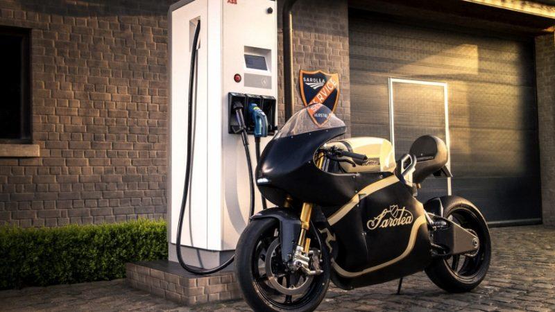 Sarolea Motorcycle - Sarolea Manx7