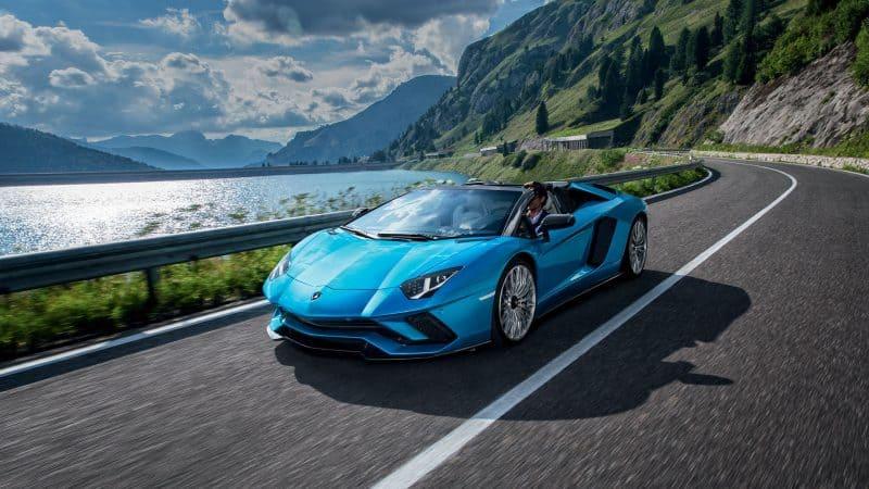 Most Exciting Cars 2018 - Lamborghini Aventador S Roadster
