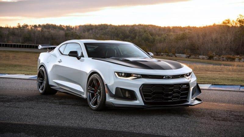 Most Exciting Cars 2018 - Chevrolet Camaro ZL1 1LE