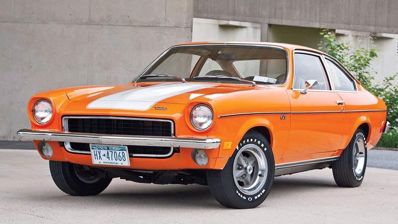 Chevrolet Vega Front 3/4