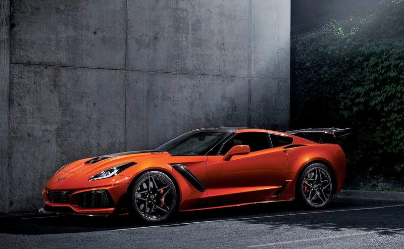 2018 Most Exciting Cars - Chevrolet Corvette ZR1