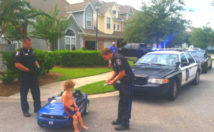 kid caught speeding