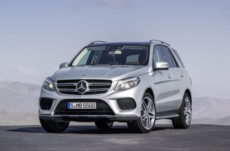 Best 2018 SUV Hybrids - Mercedes-Benz GLE 550e