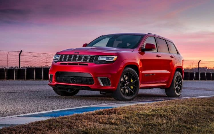 Best Crossover 2018 - Jeep Grand Cherokee Trackhawk