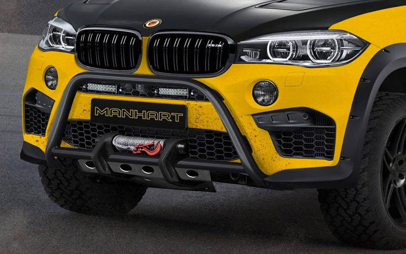 Manhart Mhx6 Dirt Is An Off Road Prepped 887hp Bmw X6 You Will Love
