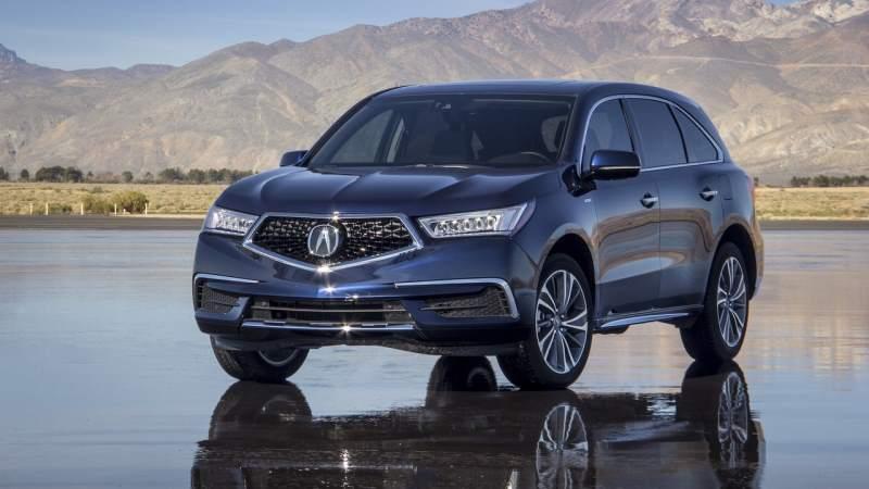 Best 2018 SUV Hybrids - Acura MDX Sport Hybrid