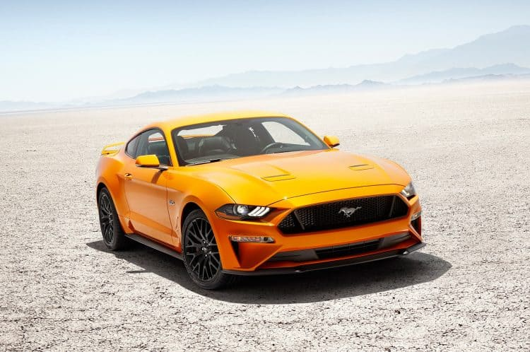 Most Exciting Cars 2018 - Ford Mustang