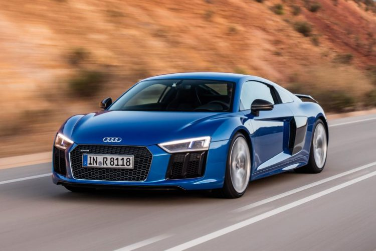 2018 Luxury Cars - Audi R8