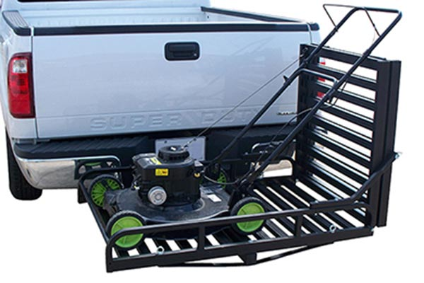 cargo systems that slide into truck hitch