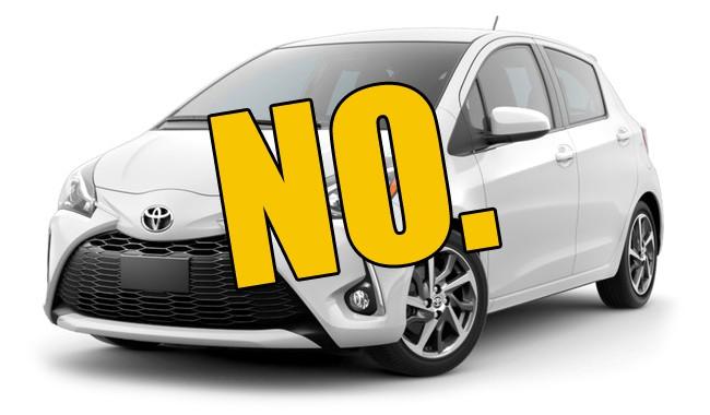 No Slow Cars!