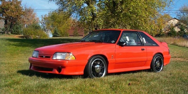 1993 Ford SVT Mustang Cobra R