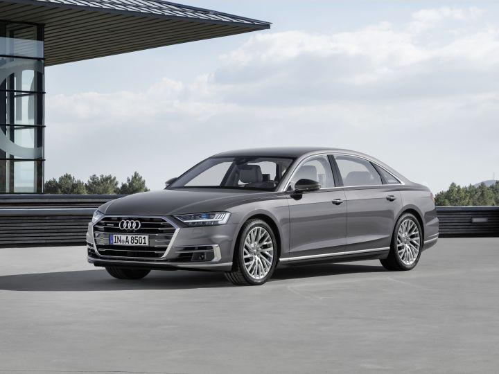 Biggest Cars In The World - Audi A8 L