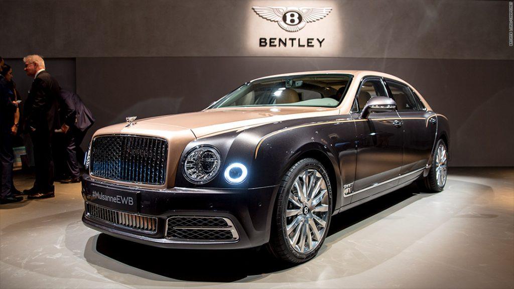 Biggest Cars In The World - Bentley Mulsanne EWB (Extended Wheel Base)